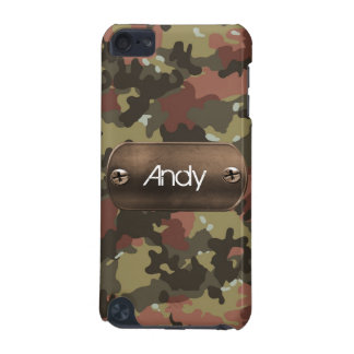 personalized camo army green iPod touch 5G cover