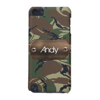 personalized camo army green iPod touch (5th generation) case