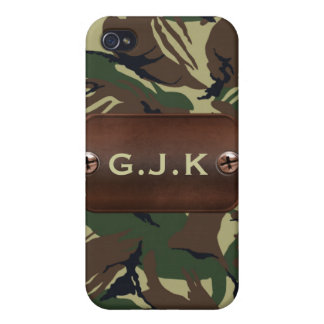 personalized camo army name tag 4 casing iPhone 4/4S covers