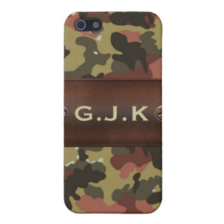 personalized camo army name tag Iphone4 casing Cover For iPhone SE/5/5s