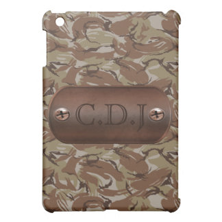 personalized camo army tag Pern casing Cover For The iPad Mini