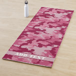 Personalized Camo Yoga Mat