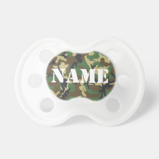 Personalized Camouflage Pacifier BooginHead Pacifier