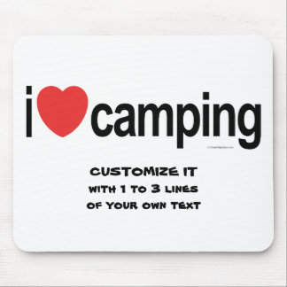 Personalized Camping Mouse Pad