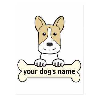 Personalized Canaan Dog Post Cards
