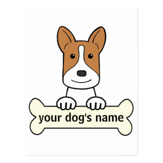 Personalized Canaan Dog Post Card