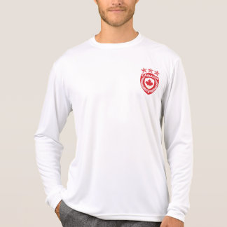 Personalized Canada Jersey Micro-Fiber Long Sleeve T-shirt