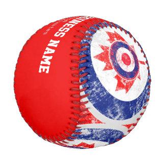 Personalized Canadian Grunge Mod Baseball