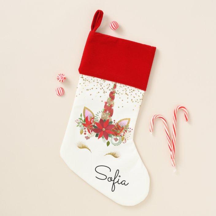 Candy Canes Custom Christmas Socks