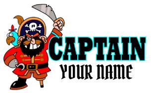 2e2a64193758e Personalized Captain Pirate Boat Hat