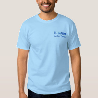 Personalized Captain's Embroidered Shirt
