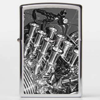 Personalized Car Engine Zippo lighter