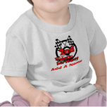 Personalized Car Racing 2nd Birthday T-shirt
