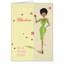 Personalized Cards for the Sorority Girl 2