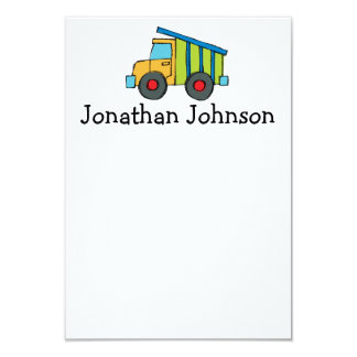 """Personalized Cards 3.5"""" X 5"""" Invitation Card"""