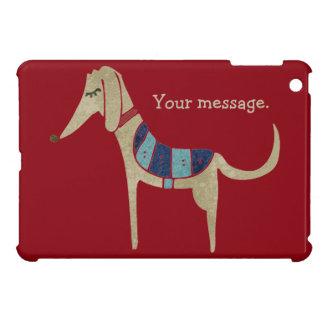 Personalized Cartoon Dog Cover For The iPad Mini