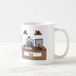 Personalized cartoon mug for PM
