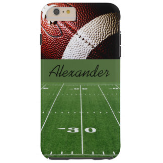 Personalized Case-iPhone 6 Plus/Football and Field Tough iPhone 6 Plus Case