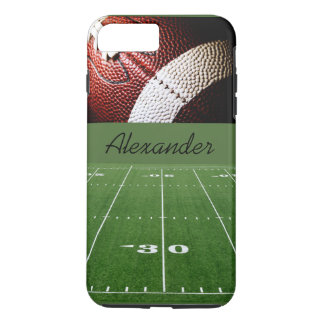 Personalized Case-iPhone 7 Plus/Football and Field iPhone 7 Plus Case