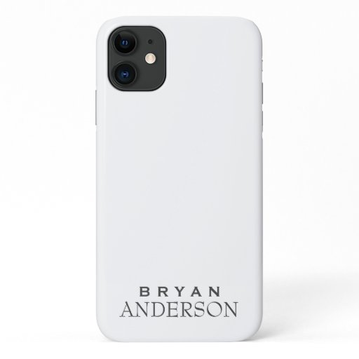 Personalized iPhone 11 Case