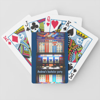 Personalized Casino Slot Machine Card Decks