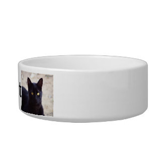 Personalized Cat Bowl