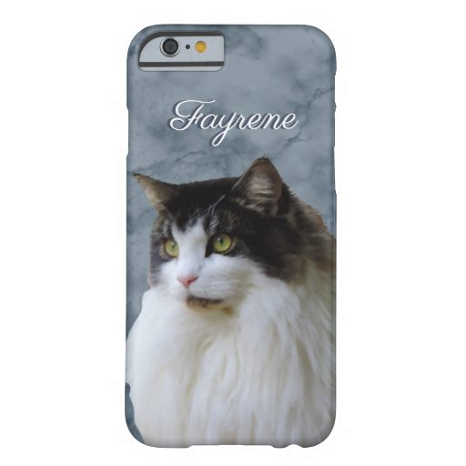 Personalized Cat iPhone 6 - Tough Phone Case