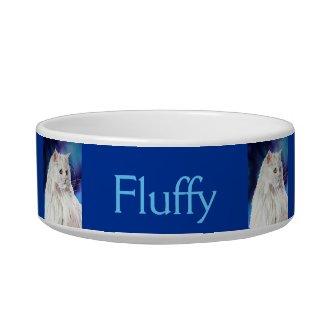 Personalized Cat Lover Custom Cat Bowl