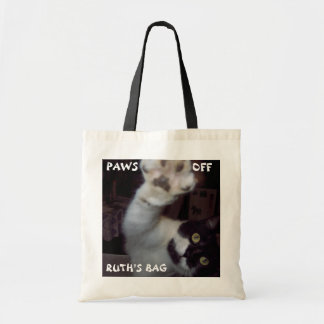 Personalized Cat Tote