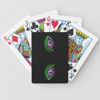 Personalized Cat's Eyes Playing Cards