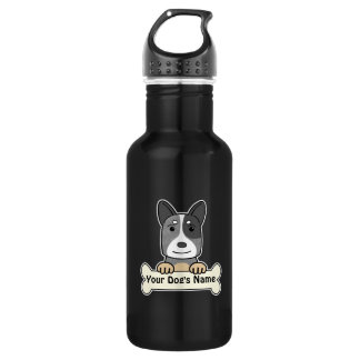 Personalized Cattle Dog Water Bottle