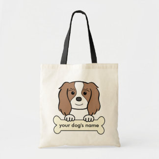 Personalized Cavalier Canvas Bags