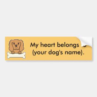 Personalized Cavalier Bumper Sticker