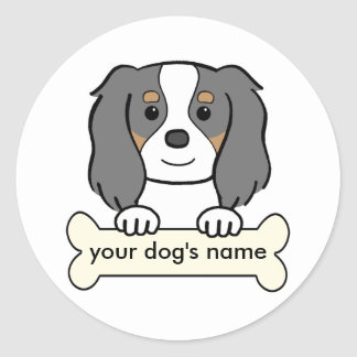 Personalized Cavalier Classic Round Sticker