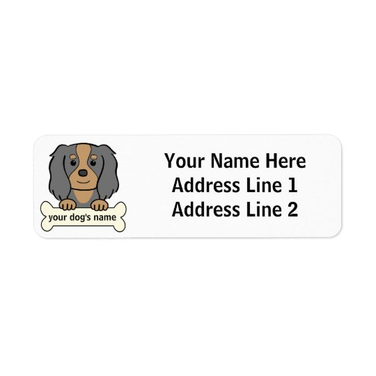 Personalized Cavalier Label