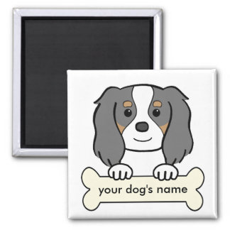 Personalized Cavalier 2 Inch Square Magnet