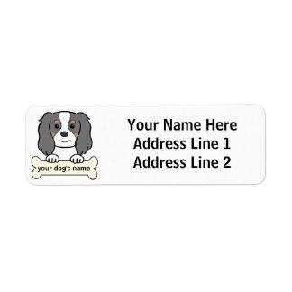 Personalized Cavalier Return Address Label