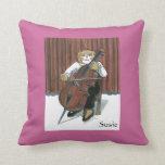 Personalized Cello Pillow