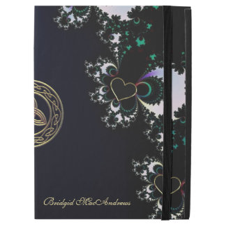 Personalized Celtic Heart Fractal iPad Pro Case