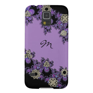 Personalized Celtic Symbol Fractal Monogram Galaxy S5 Cover