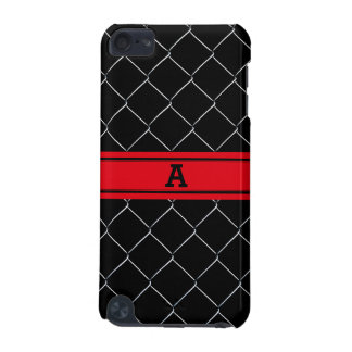 Personalized Chain Link Fence Pattern iPod Touch (5th Generation) Cover