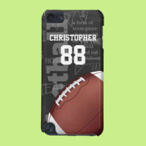 Personalized Chalkboard American Football iPod Touch 5G Case