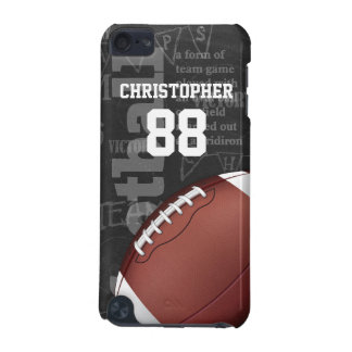 Personalized Chalkboard American Football iPod Touch 5G Cases