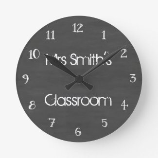 Personalized Chalkboard Classroom