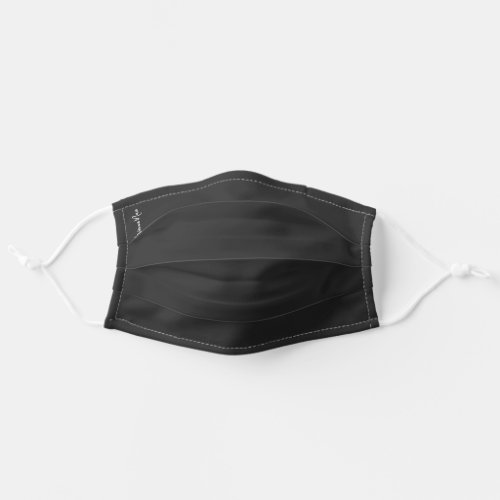 Personalized Charcoal Cloth Face Mask Cover