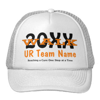 Personalized Charity Walk Hat