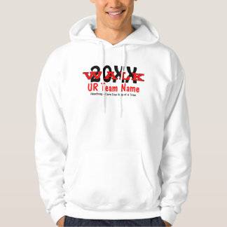 Personalized Charity Walk Men's Hoody