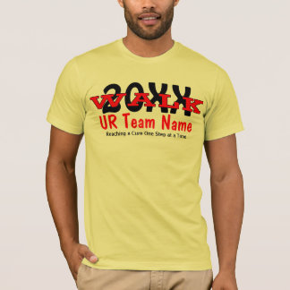 Personalized Charity Walk Men's T-Shirt