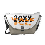 Personalized Charity Walk Messenger Bag