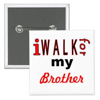 Personalized Charity Walk Pin